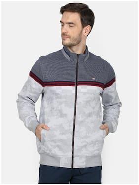 Men Colourblocked Sweatshirt