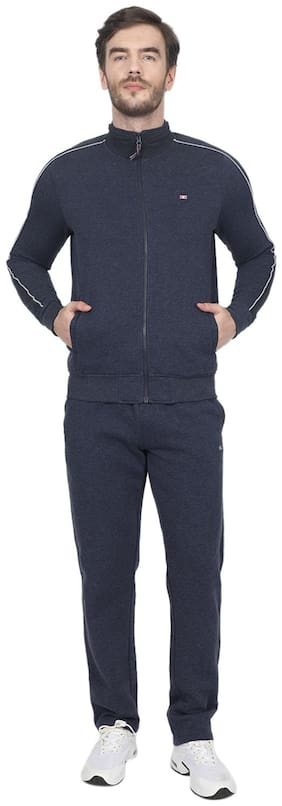 Regular Fit Cotton Blend Track Suit ,Pack Of Pack Of 2