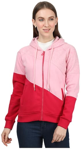 Women Colourblocked Sweatshirt