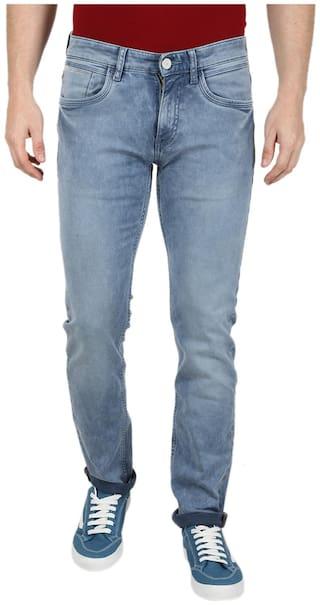 Monte Carlo Men Blue Regular Fit Jeans