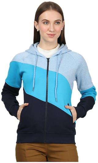 Monte Carlo Women Colourblocked Sweatshirt - Multi