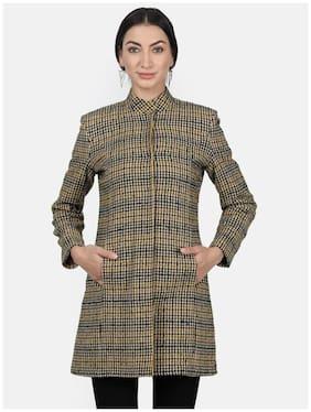 Women Cotton Regular FIt Coat ,Pack Of 1
