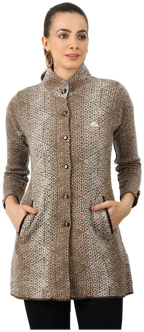 Women Wool Regular FIt Coat