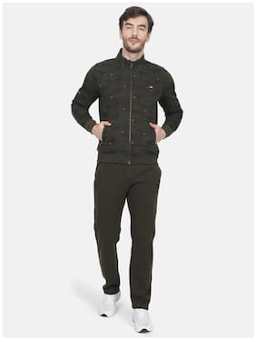 Regular Fit Cotton Blend Track Suit