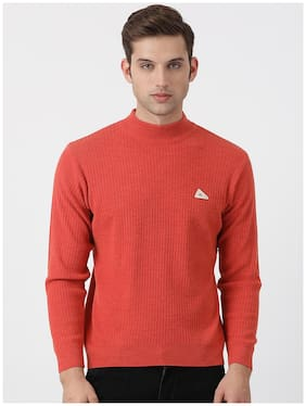 Men Wool Full Sleeves Sweater