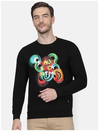 Monte Carlo Men Black Round neck Sweatshirt