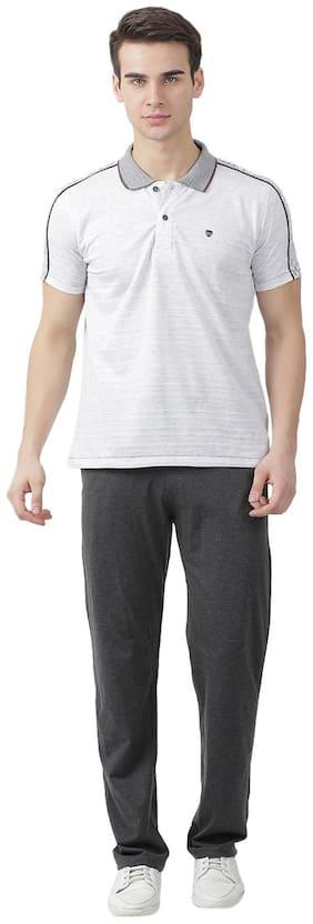Regular Fit Cotton Blend Track Suit