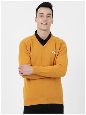 Men Wool Full Sleeves Sweater