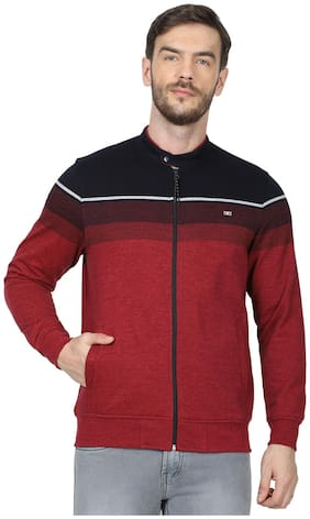 Men Colourblocked Sweatshirt Pack Of 1