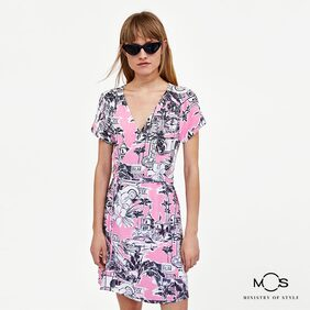 Ministry of Style Floral Dress - Multi