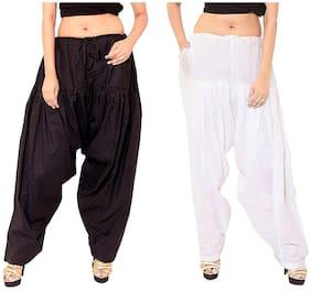 MPI Cotton Salwar - Black & White