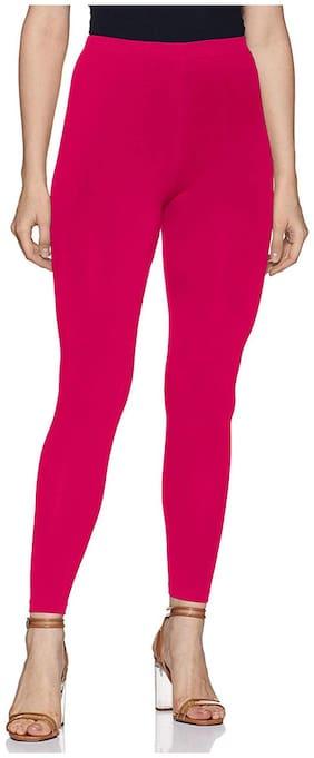 MPI Women Pink Ankle Length Legging large Size