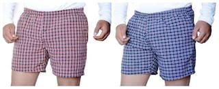 MR.TAYLORZ Men Multi Skinny Fit Regular Shorts