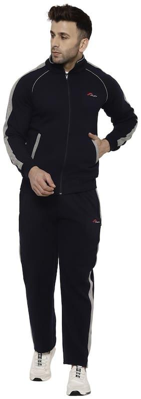 Regular Fit Cotton Blend Track Suit Pack Of 1