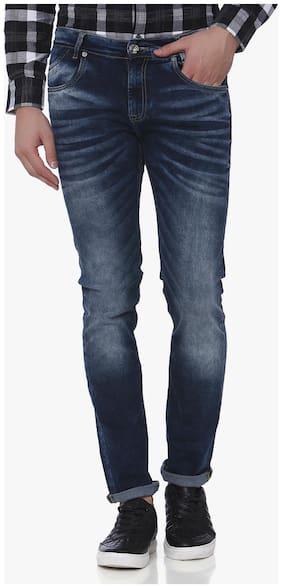 Men Narrow Fit Mid Rise Jeans