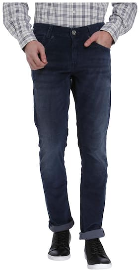 Mufti Men Mid rise Slim fit Jeans - Blue