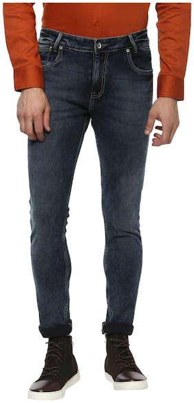Mufti Men Mid rise Skinny fit Jeans - Blue