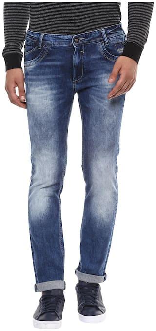 Mufti Men Blue Slim Fit Jeans