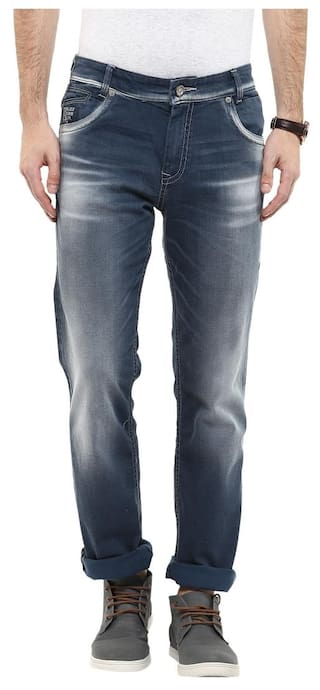 e99eb8f8b19 Buy Mufti Mens Grey Comfort Fit Mid Rise Jeans Online at Low Prices ...