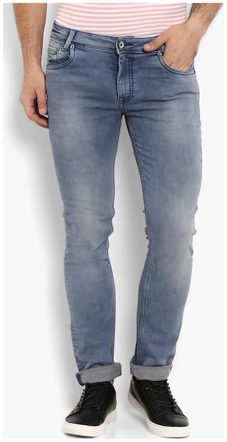 Mufti Men Blue Slim Fit Jeans
