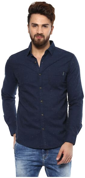 Mufti Men Regular fit Casual shirt - Blue