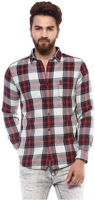 Mufti Men Regular fit Casual shirt - Multi