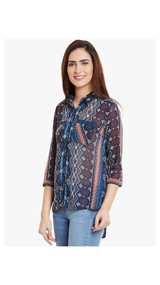 multicolor Printed Printed Shirt multicolor gq1gvr
