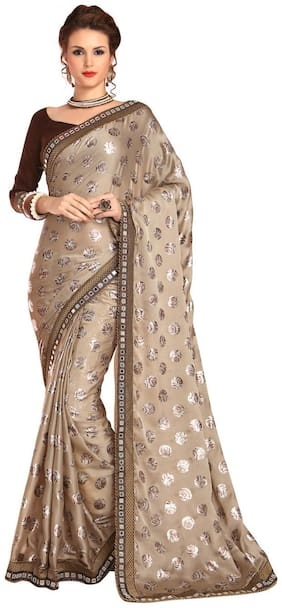 Satin Universal Saree