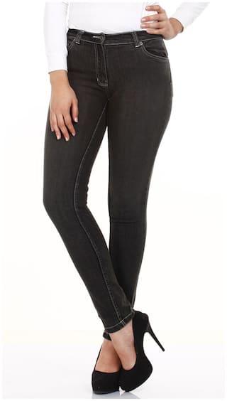 Mustard Black Cotton Trouser (Size-28)
