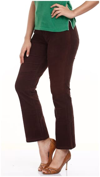28 Mustard Trouser Cotton Size Brown xYw8SPqA