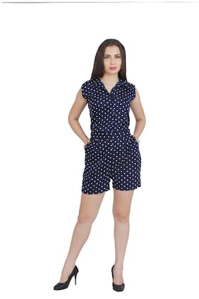 My Swag Solid Jumpsuit - Blue