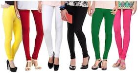 MYRA-SYRA Cotton Leggings - Multi
