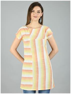 Myshka Women Striped Regular top - Multi