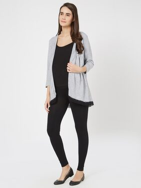Mystere Paris Maternity Knitted Cardigan