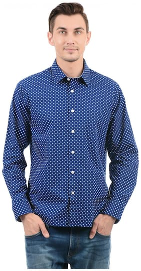Nautica Men Slim Fit Casual shirt - Blue