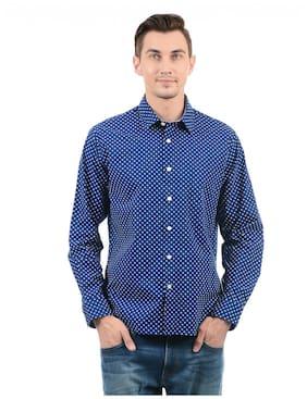 Nautica Men Slim Fit Casual shirt - Blue