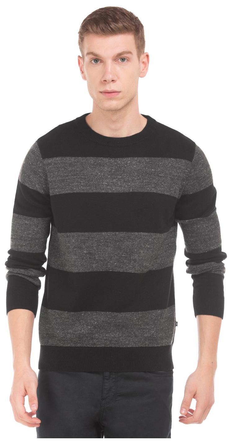 Nautica Men Cotton Sweater , Grey