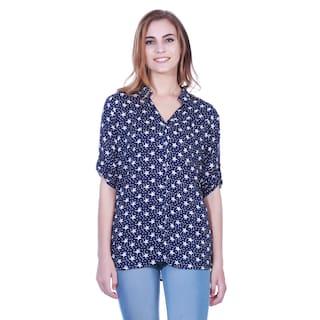 Navy tunic shirt print Star Star Navy 88qwp1f