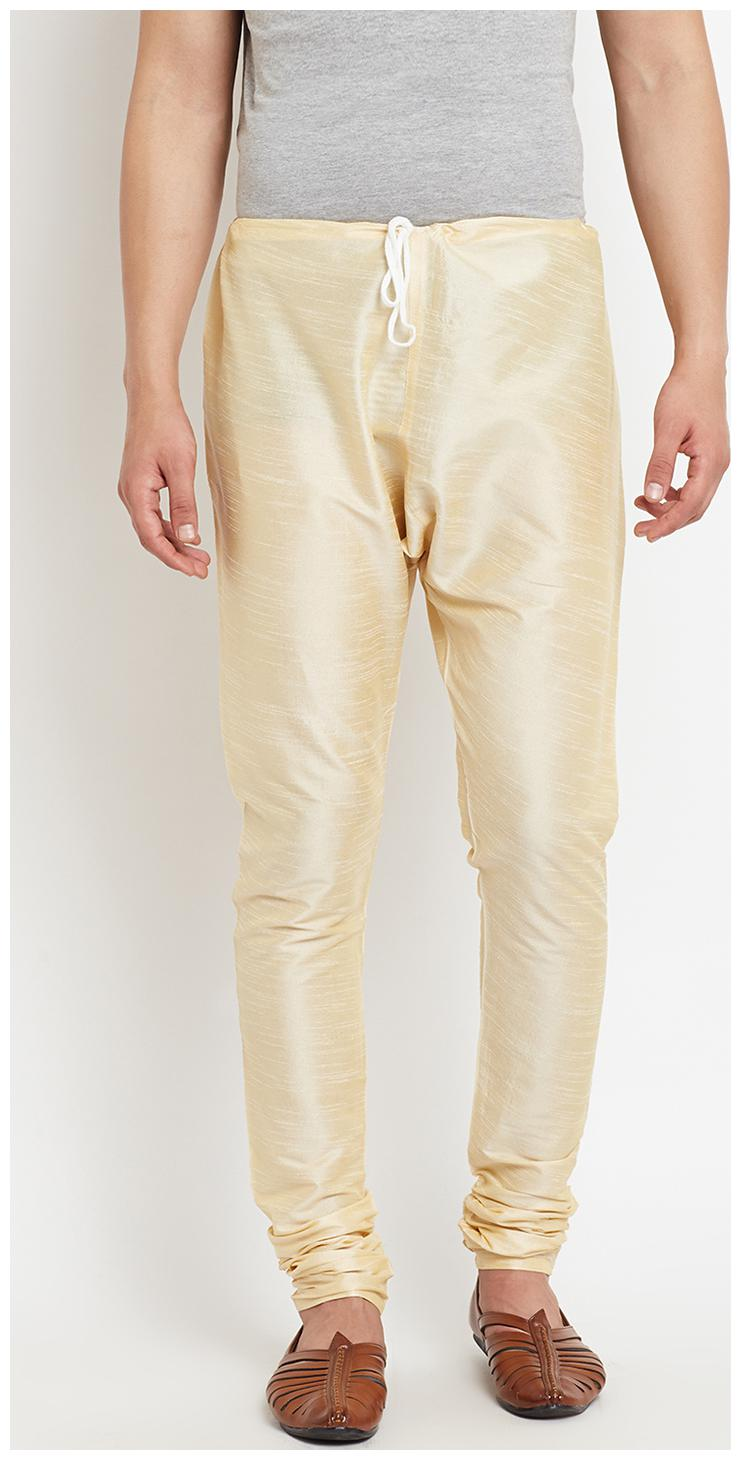 Nawab-saheb Mens Solid Churidar Bottoms