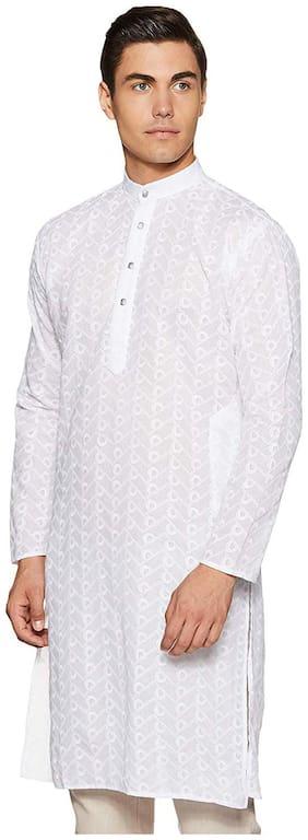 Men Printed Regular Fit Kurta Pack Of 1