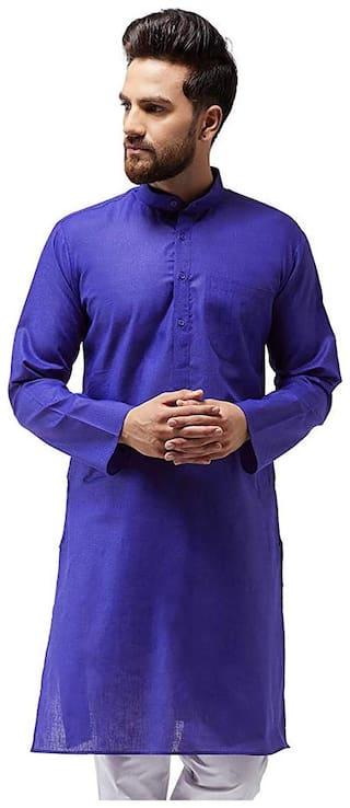Nawab-Saheb Mens Linen Kurta Top