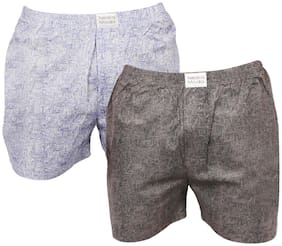 Neska Moda Men Cotton Boxer (Pack of 1 )  Multi
