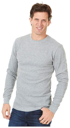 neubau Men Cotton Thermal Top - Grey