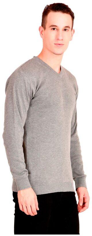 NEUVIN  Pullover CardiganPlain Grey
