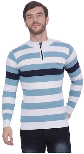 Neuvin Stylish Pullovers/Sweaters for Men (Pack of 1) Blue