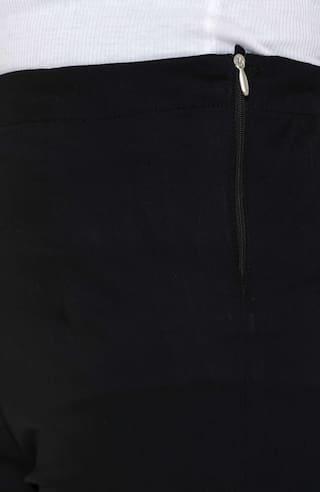 Cotton Trousers L Chinos Women's Neuvin Black Lycra Pants Zwpxq4A7