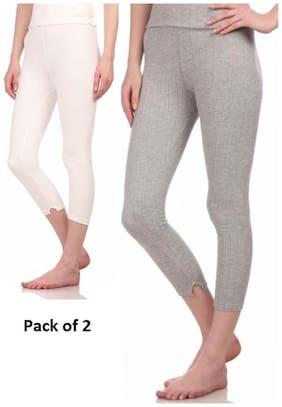 Neva Women Cotton Thermal bottom - Multi