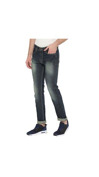 Blue Rise Jeans Neva  Fit Men s Regular Mid NM6bpmJ