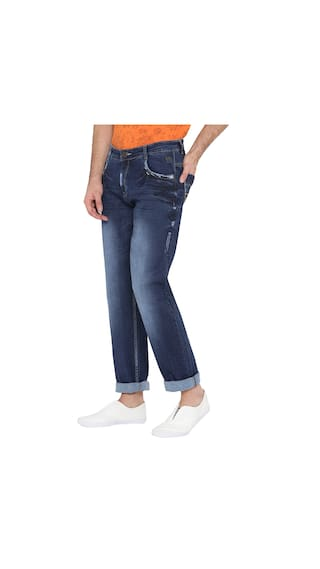 Jeans Men Fit Neva Regular  Blue s Mid Rise fwjfD6p2