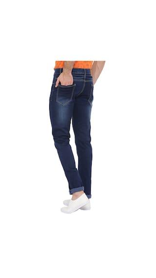 s Regular Fit Rise Blue Jeans Neva Men Mid HxSf9Ot